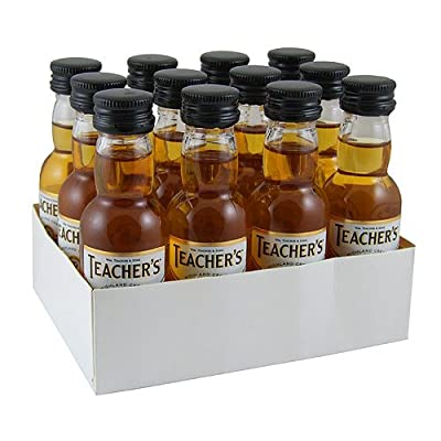 Teachers 5cl Miniature Blended Whisky - 12 Pack by Teachers