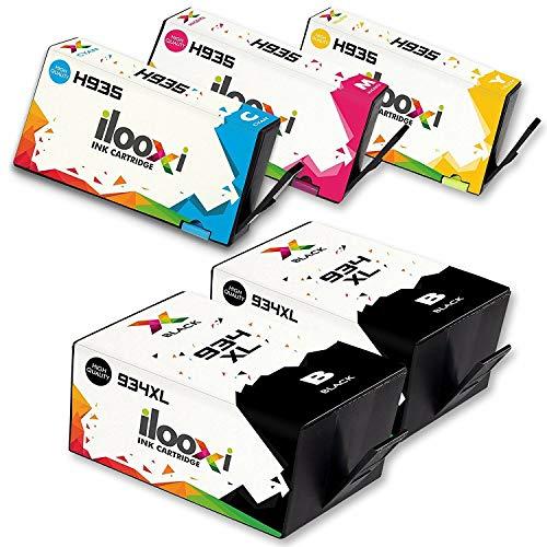 Ilooxi Ersatz für HP 934 935 Druckerpatronen 934XL 935XL Hohe Kapazität Komp. für HP Officejet...