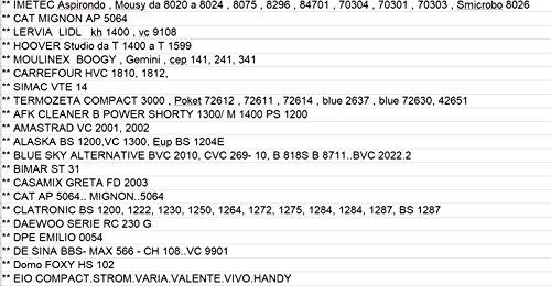 comprare on line 8 SACCHETTI ASPIRAPOLVERE ADATTI IMETEC MOUSY - DAEWOO - LIDL - LERVIA - CARREFOUR - HOOVER - MOULINEX - TERMOZETA - SIMAC - GAGGIA - BLU SKY - AMASTRAD - ALASKA - DPE - CLATRONIC - G3 FERRARI - HARRISON - INCONTRO - MAX - NECCHI - SALTON - SELECT LINE - SEVERIN - SINGER - TAURUS - TRISTAR - ALTERNATIVE - CROMEX - FERM - EVC - DE SINA - DOMOSTRAR - UFESA - MADE IN ITALY ** IM 11 prezzo