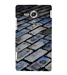 EPICCASE foot path Mobile Back Case Cover For Sony Xperia SP (Designer Case)