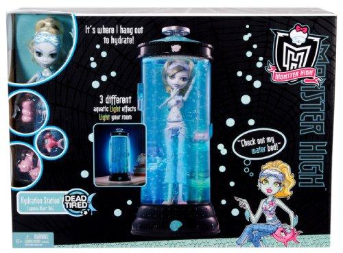 Imagen 4 de Monster High V7963 - Muñeca Lagoona Blue con Hidrocápsula Luminosa (Mattel) - incluye muñeca