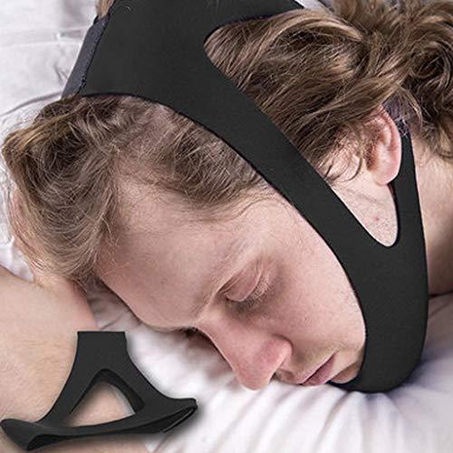 Kinnriemen zur Schnarchreduzierung Anti-Schnarchgürtel, Schlafender Erwachsener Schnarchender Kinderkorrekturgürtel, Gesichtskorrekturgürtel (einschließlich 2 ×)