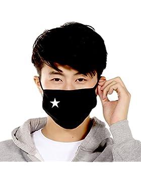 Tangbasi Unisex Lindo Osito Máscara de Boca Algodón Anti Polvo para Aire Libre