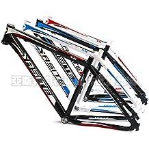 Yasite, 66,04 centímetros Bicicleta de montaña MTB marco de aluminio para bicicleta, 43,18 cm