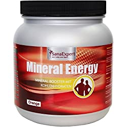 SanaExpert Mineral Energy, bebida isotónica para deportistas, vitaminas, minerales y electrolitos, 1100 g