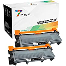 7Magic Compatible Brother TN2320 TN-2320 Cartucho de Tóner (2 Negro) de Alta Capacidad Para Brother MFC-L2700DW MFC-L2740DW MFC-L2720DW HL-L2300D HL-L2340DW DCP-L2520DW DCP-L2500D Impresora
