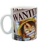 One Piece - Keramik Tasse Riesentasse 460 ml - Wanted Luffy Ruffy - Geschenkbox