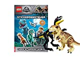 LEGO® Jurassic World - Stickerabenteuer, Chaos in Jurassic World + 1. Dinosaurier World Spielebeutel