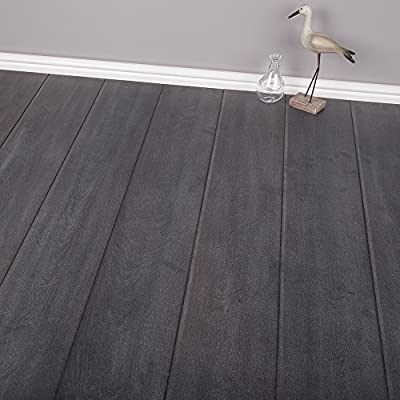 8mm - V-Groove - Laminate Flooring - Colonial Oak Effect - 2.22 sqm produced by Brooklyn - quick delivery from UK.