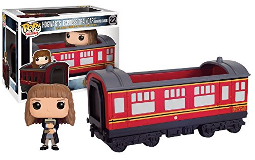 "Figura Harry Potter Pop! - ""Hogwarts Express Train Car/ Vagón de tren + Hermione Granger"""