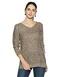People Womens Pullover (P20401186087013_Beige_Medium)