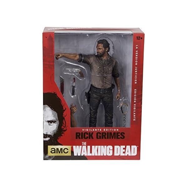 Action Figur The Walking Dead TV Rick Grimes Vigilante 25 cm [Importación Alemana] 2