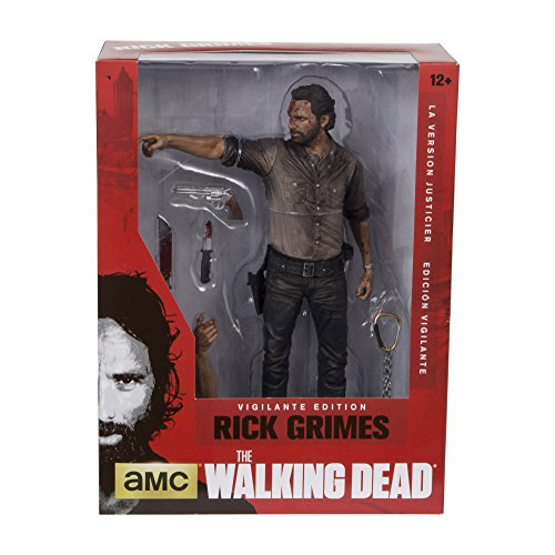 Image of The Walking Dead TV 25 cm Rick Grimes Vigilante Edition Deluxe Figure