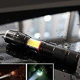 Teleskop fokussierende Magnet Design COB + T6 Dual Zweck High Light Taschenlampe