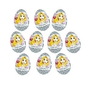 Walt Disney Princesse Caractères de Bien connue Dessins animés Chocolat Surprise Œufs, Zaini Ltd Paquet de 10]