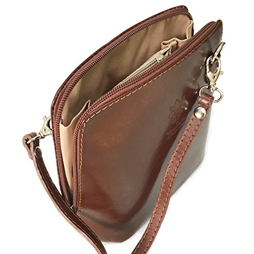 Lorenz-Borsa in pelle con tracolla Marrone (cinnamon brown)