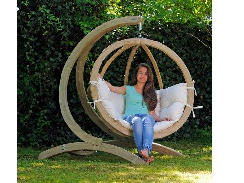 AMAZONAS - GLOBO chair natura + support bois V2