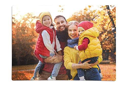 Puzzle mit eigenem Foto, Text oder Motiv selbst gestalten, indivdualisierbares Fotopuzzle mit 300 Teilen, ca. 40x30 cm, persönliches Fotogeschenk - Puzzle Foto