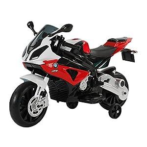 seguro motos: HOMCOM Coche Correpasillos Niños 3-8 años Moto Eléctrica Infantil Batería 12V Do...