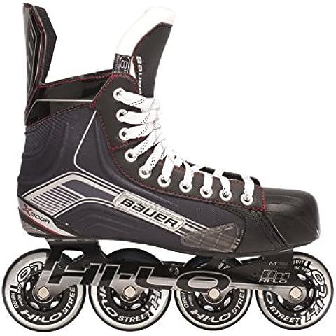 Bauer patines en línea para niños X300R - Junior Negro negro Talla:03.0 (36.0)