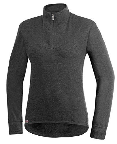 Woolpower 200 Turtleneck Long Sleeve Zipp Shirt Men - Unterwäsche Grau