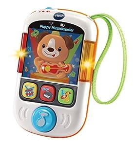 VTech Baby Puppy Muziekspeler - Juegos educativos, Niño/niña, 3 año(s), Cachorro, Holandés, De plástico