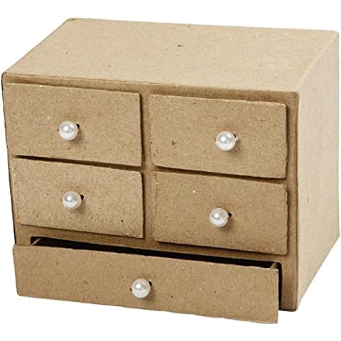 Chest of drawers, size 16x10x12 cm, 1 pc