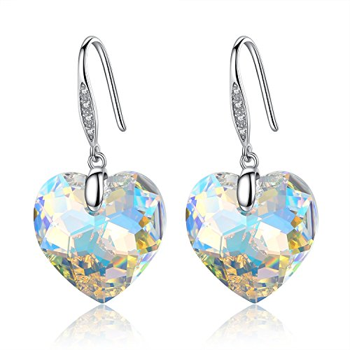gosparking-aurora-borealis-cristallo-del-cuore-sterling-silver-orecchini-con-cristallo-austriaco-per