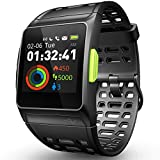 GPS Running Watch, ECG Smart Watch HRV Analysis Fatigue/Sleeping/Heart Rate Monitor IP67 Waterproof