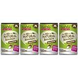 Natvia 100 Percent Natural Sweetener Canister 200 g (Pack of 4)