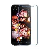 [2 Pack]ASUS ZenFone 4 Selfie Pro ZD552KL verre trempé, EUGO Film Protection d'écran en Verre Trempé Glass Vitre Tempered - Dureté 9H, Ultra-mince 0.20 mm, 2.5D Bords Arrondis