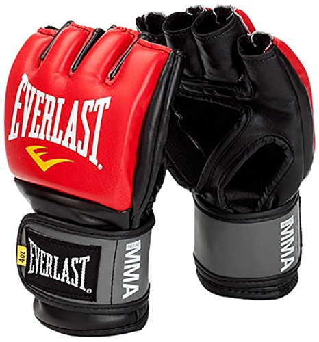 Everlast Erwachsene Boxartikel 7778 Pro Stye Grappling Gloves Stlye, Red/Black, L/XL