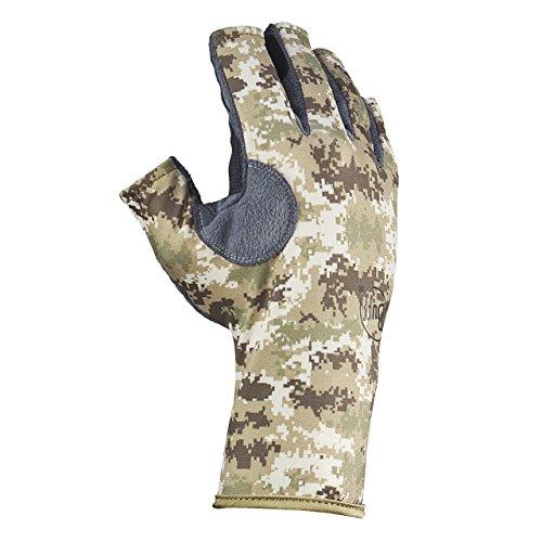 Original Buff Pixels Desert Sand–Angler Gloves Unisex, gemustert, Unisex, Bedruckt, S-M