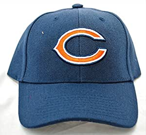 b09761fc Chicago Bears Unisex Navy Blue Baseball Cap, Classic C Logo