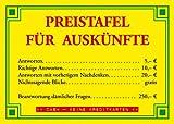 Modern Times Postkarte A6 +++ LUSTIG von +++ PREISTAFEL FÜR AUSKÜNFTE +++ ECKI DESIGN