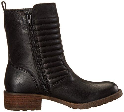 Lucky Brand Dunes Damen Rund Leder Mode Mitte Calf Stiefel Black