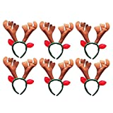 DescriptionAre you looking for fancy costume accessories for Christmas party or masquerade? That's not a problem with this Christmas themed headband. This item is designed with cute antlers and ears for personalized decoration. Proper size ensures it...
