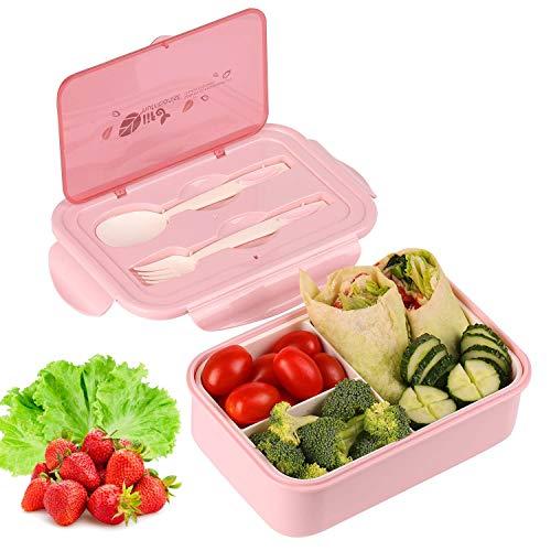 KATELUO Caja Bento Lunch Box Fiambrera Bento 1400