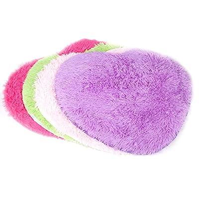 Heart-Shape Soft Fluffy Bedroom Rug Carpet Floor Mat Cover Decoration - cheap UK light shop.