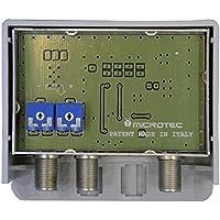 Amplificatore da palo, 2 ingressi: VHF, UHF, guadagno 32-34 dB, per zone con segnale medio-debole