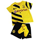 PUMA Baby Trikot Set BVB Home Kit with Socks