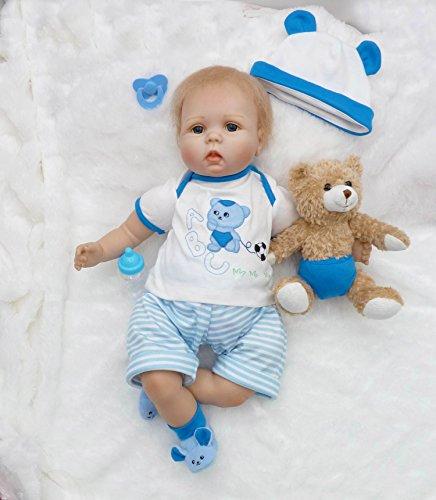 Pursue Baby Angela, 20 Zoll Lebensechte Neugeborene Babypuppe für Jungen