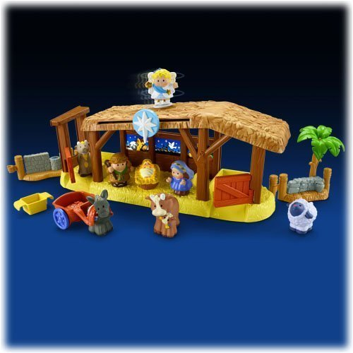 Mattel - Juguete para apilar y Encajar Little People (W2869)