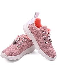 size 40 748a0 46c0a gracosy Fiber Optical Schuhe, Damen LED Sneaker Blinkt Sport Leuchten USB  Lade Laufen Wanderschuhe Outdoor Rutschfeste Lightweight Gym…