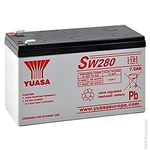 Yuasa - Batterie plomb AGM SW280 12V 7.5Ah - Batterie(s)