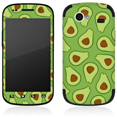 DeinDesign Google Nexus S I9023 Folie Skin Sticker aus Vinyl-Folie Aufkleber Avocado Muster Frucht