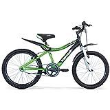 """Kawasaki Bici Bambino Kbx 20"""" 1 Velocità Green"""
