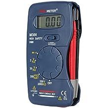 KKmoon M300 Portatile palmare Mini digitale multimetro AC/DC tensione DC corrente resistenza diodo Test di continuità di misura