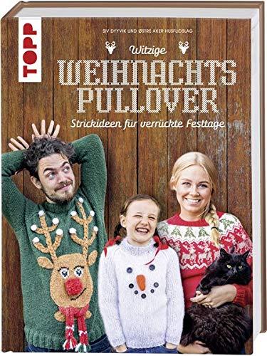 Witzige Weihnachtspullover: Strickideen für verrückte Festtage