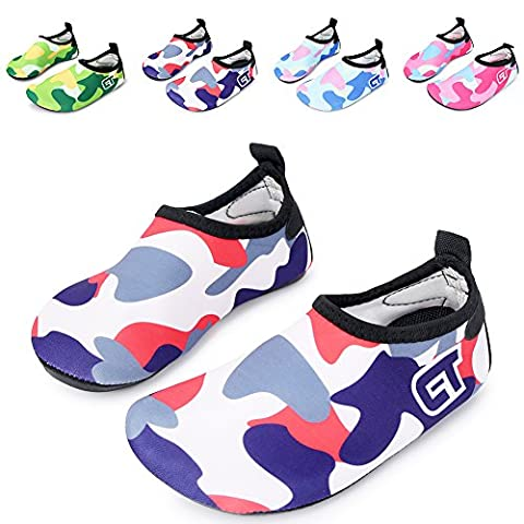 L-RUN Infant Toddler Swim Water Sock Shoes Beach Pool Surfing